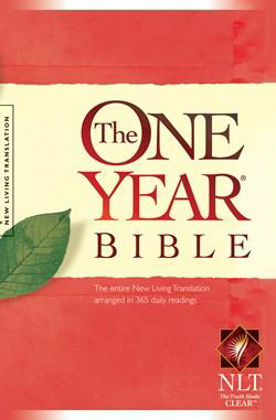 Picture of NLT One year bible