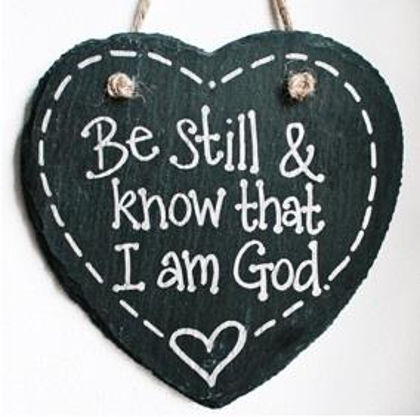 Picture of Slate heart - Be still and know