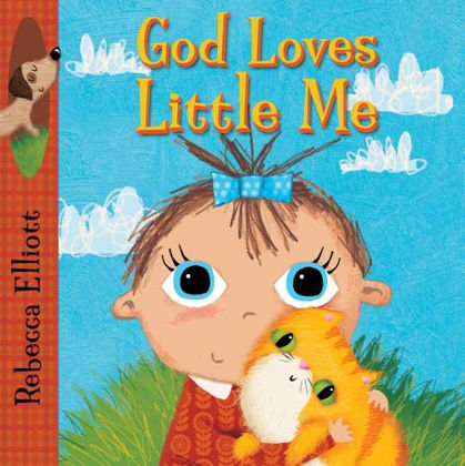 Picture of God loves little me