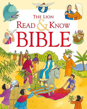 Picture of Lion read and know bible