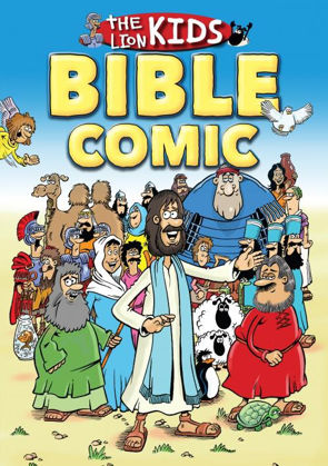 Picture of Lion Kids bible comic The