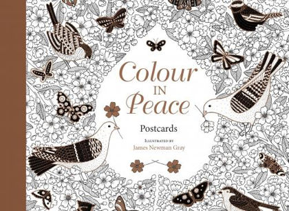 Picture of Colour in peace postcards
