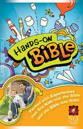 Picture of NLT Hands on bible revised edition