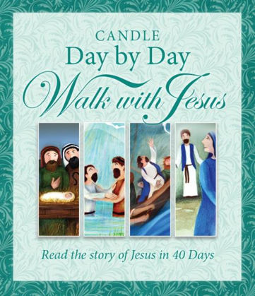 Picture of Candle day by day Walk with Jesus