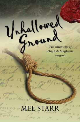 Picture of Unhallowed ground (The Chronicles of Hugh de Singleton, Surgeon #4)