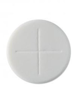 Picture of Priests wafer: 2 3/4'' Single cross (50)