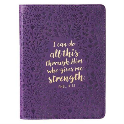 Picture of Journal: Purple - Phil 4:13 (JL239)