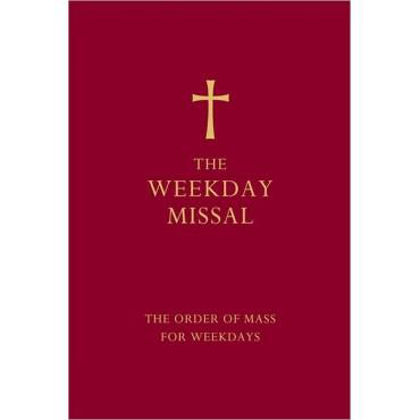Picture of Weekday missal (Red)