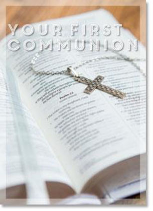 Picture of Bible and silver cross