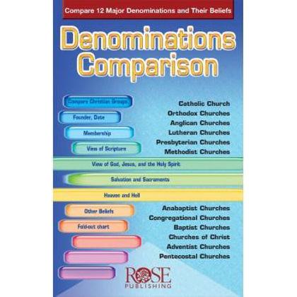 Picture of Denominations comparison