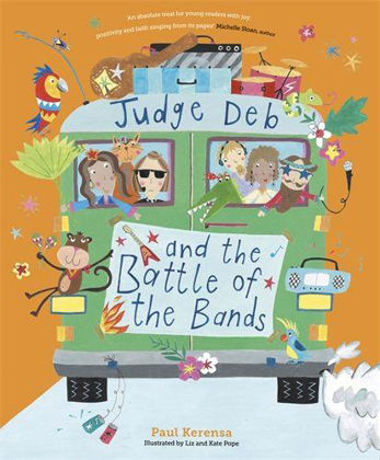 Picture of Judge Deb and the battle of the bands