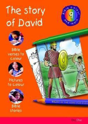 Picture of Bible colour and learn: 09 David