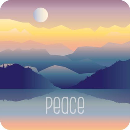 Picture of Peace mountains coaster