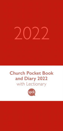 Picture of Church Pocket Book and Diary 2022 Red
