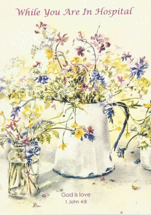 Picture of Jug of flowers