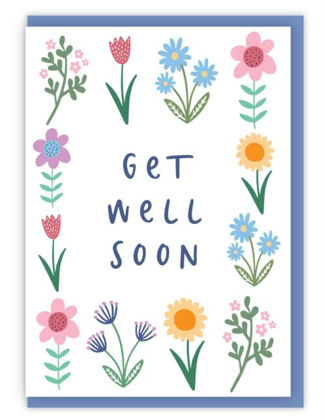 Picture of Get well soon (Spring version)