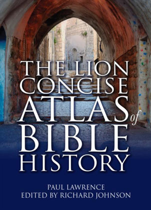 Picture of Lion concise atlas of Bible history
