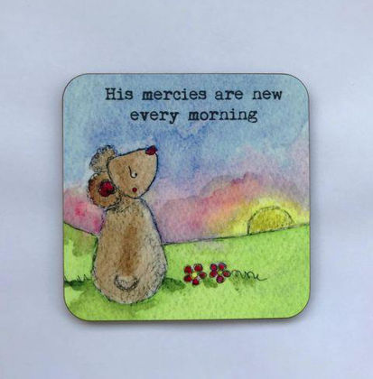 Picture of His mercies coaster