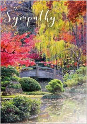Picture of Bridge in garden (Monet style)