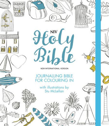 Picture of NIV journalling bible for colouring in (Larger format)