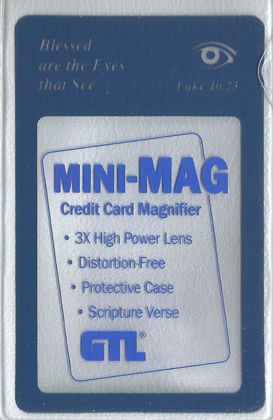Picture of Mini-Mag wallet Magnifier