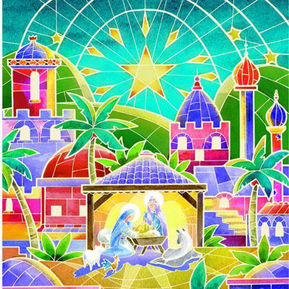 Picture of Mosaic Bethlehem (10)