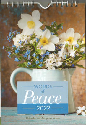 Picture of Words of Peace wall calendar 2022