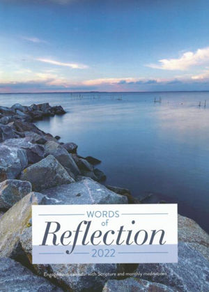 Picture of Words of Reflection wall calendar 2022
