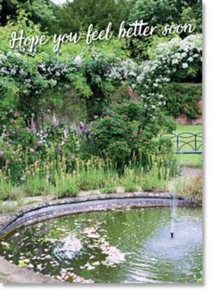 Picture of Fountain with pond
