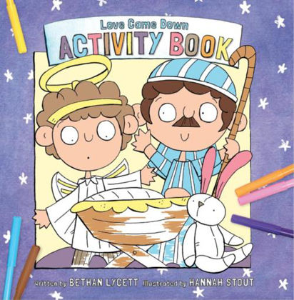 Picture of Love came down activity book