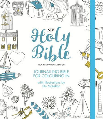 Picture of NIV Journalling Bible for colouring in